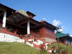 Munnar Gap Road Cottage View