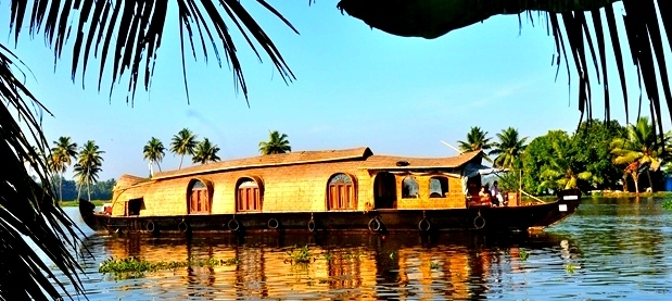 Houseboat At Kerala