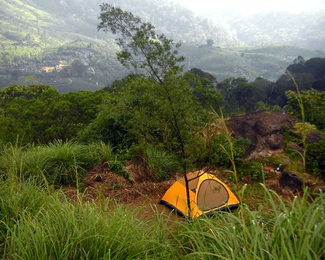 Munnar Misty Heights outdoor camping