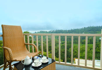Munnar Luxury Stay Balcony view